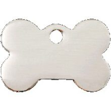 Hondenpenning luxe glad Reddingo bot RVS bij AnimalWebshop.com