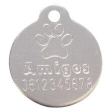 Gegraveerde-standaard-hondenpennin