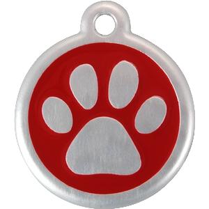 rood pootje QR penning reddingo red dingo animalwebshop