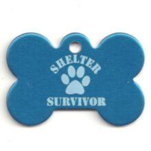 Shelter Survivor bot kluif hondenpenning penning HETDIER.nl Hondenpenning.net AnimalWebshop