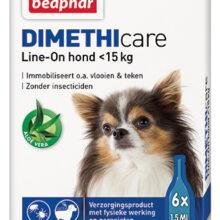 Dimethicare Line-on hond tot 15 kilo