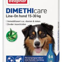 Dimethicare Line-on hond 15-30 kilo