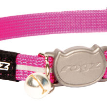AlleyCat Halsband Small Pink