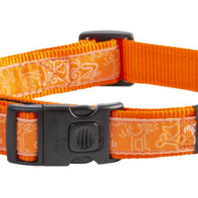 Armed Respons Halsb. Orange Doodle-Orange