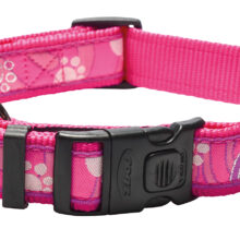 Armed Respons Choker Pink Paw